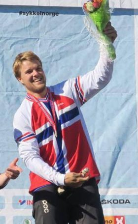Lars Vatnebryn Sandviken med NM-gull 2016
