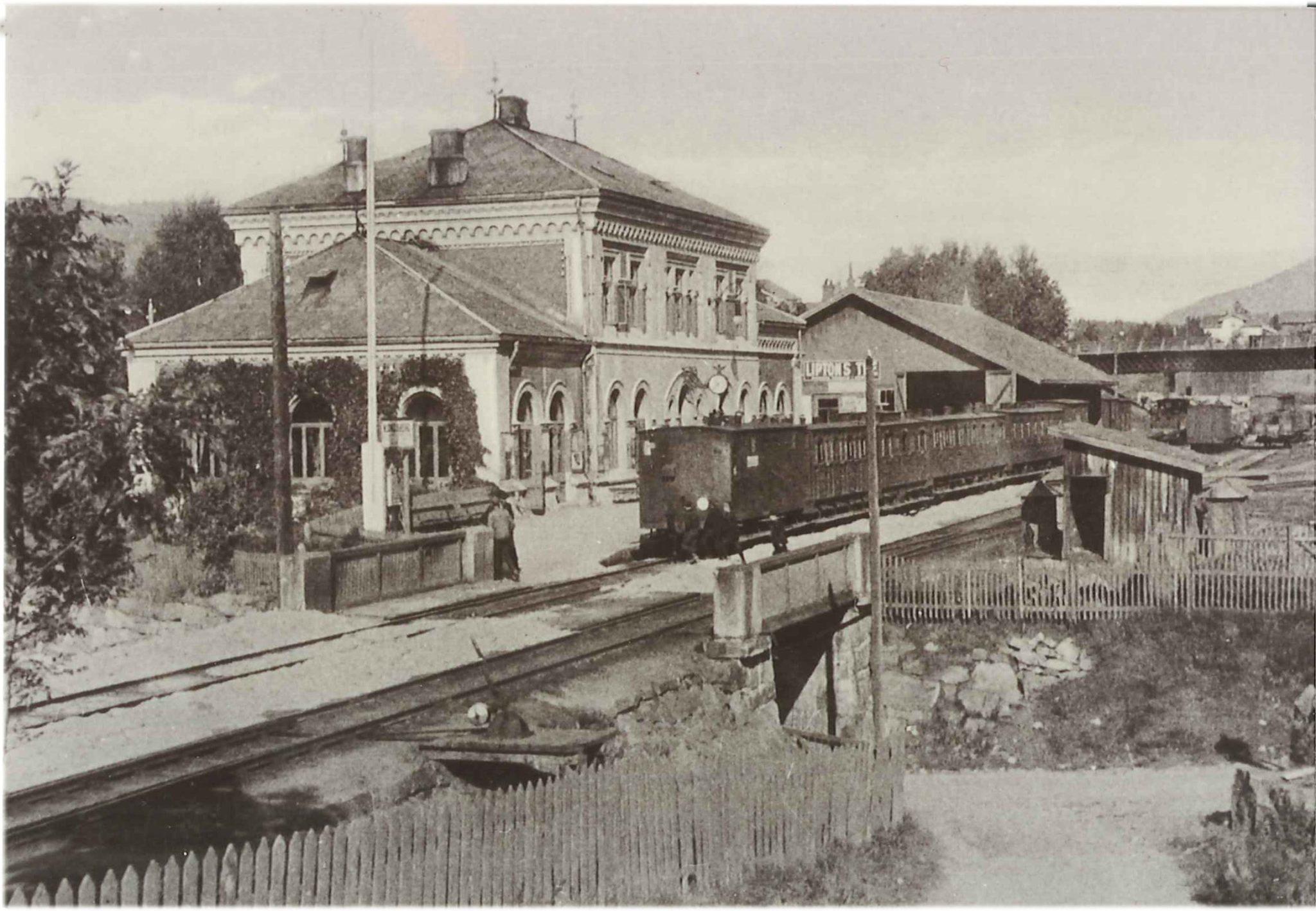 kongsberg jernbanestation2