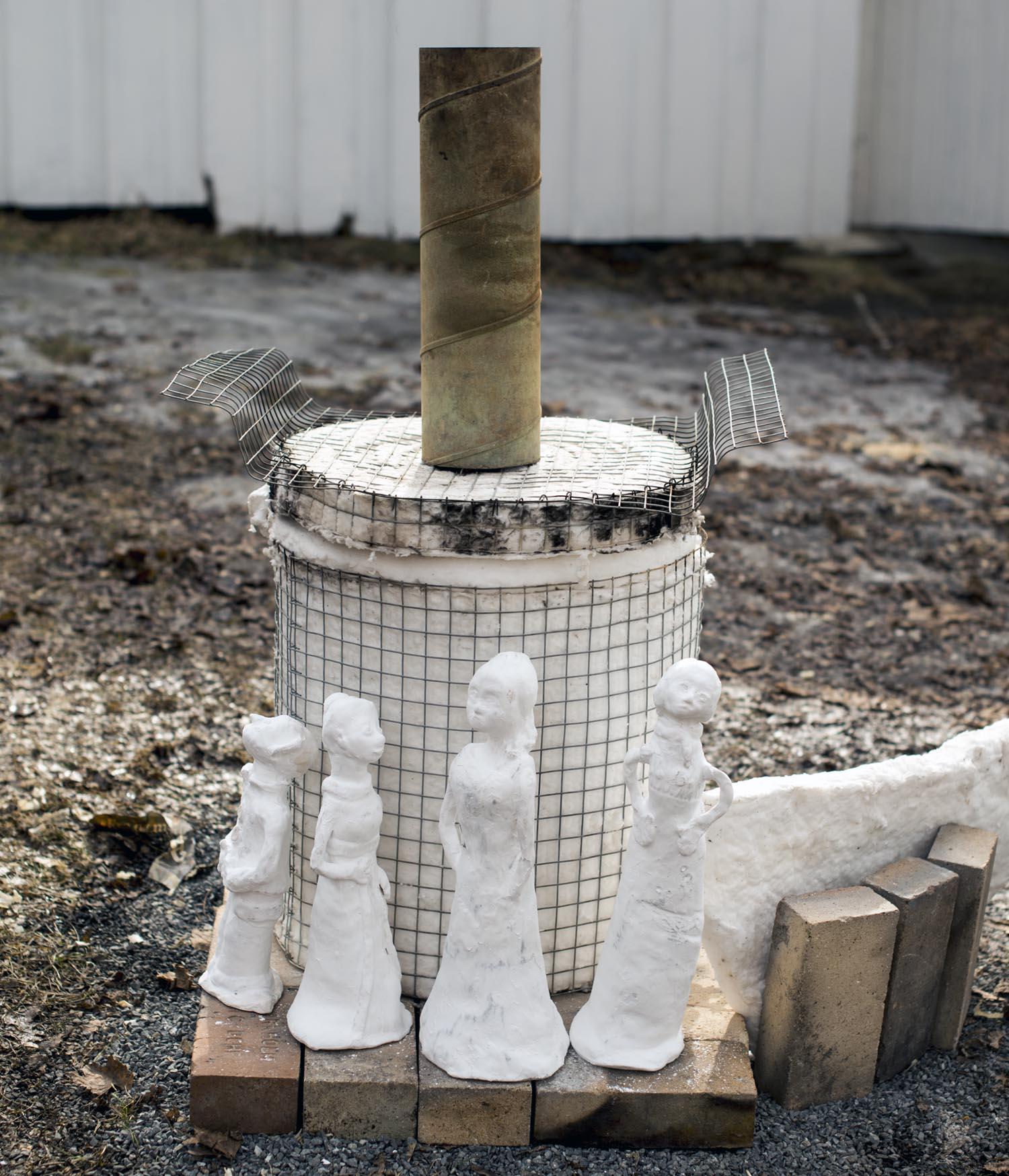 Klare for brenning. Foto: Bjørn Isaksen/3600.no
