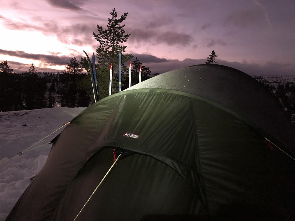 Teltet i mørket