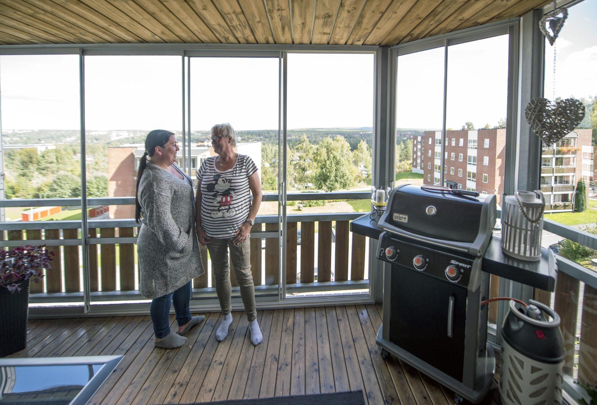 Mette Ødegaard og Sisel Wad. Foto: Bjørn Isaksen