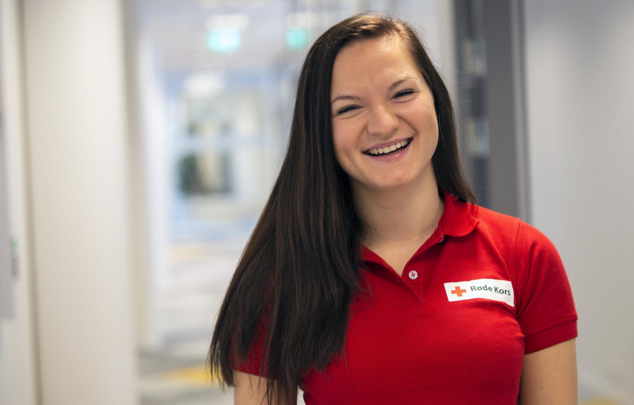Jelena Subotic, frivillighetskoordinator i Kongsberg Røde Kors. Foto: Bjørn Isaksen