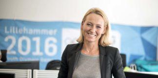 Kari Anne Saude, Executive Producer for Eurosport i Paris. Foto: Bjørn Isaksen