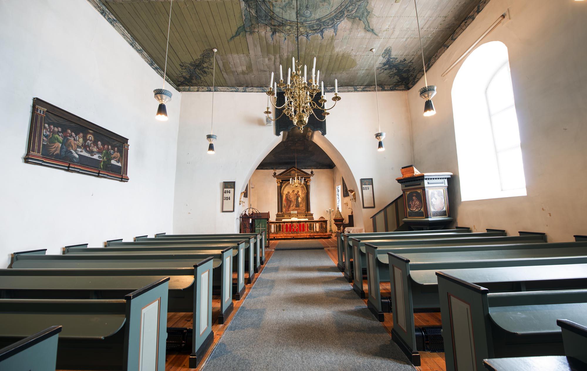 Hedenstad kirke. Foto: Bjørn Isaksen/3600.no