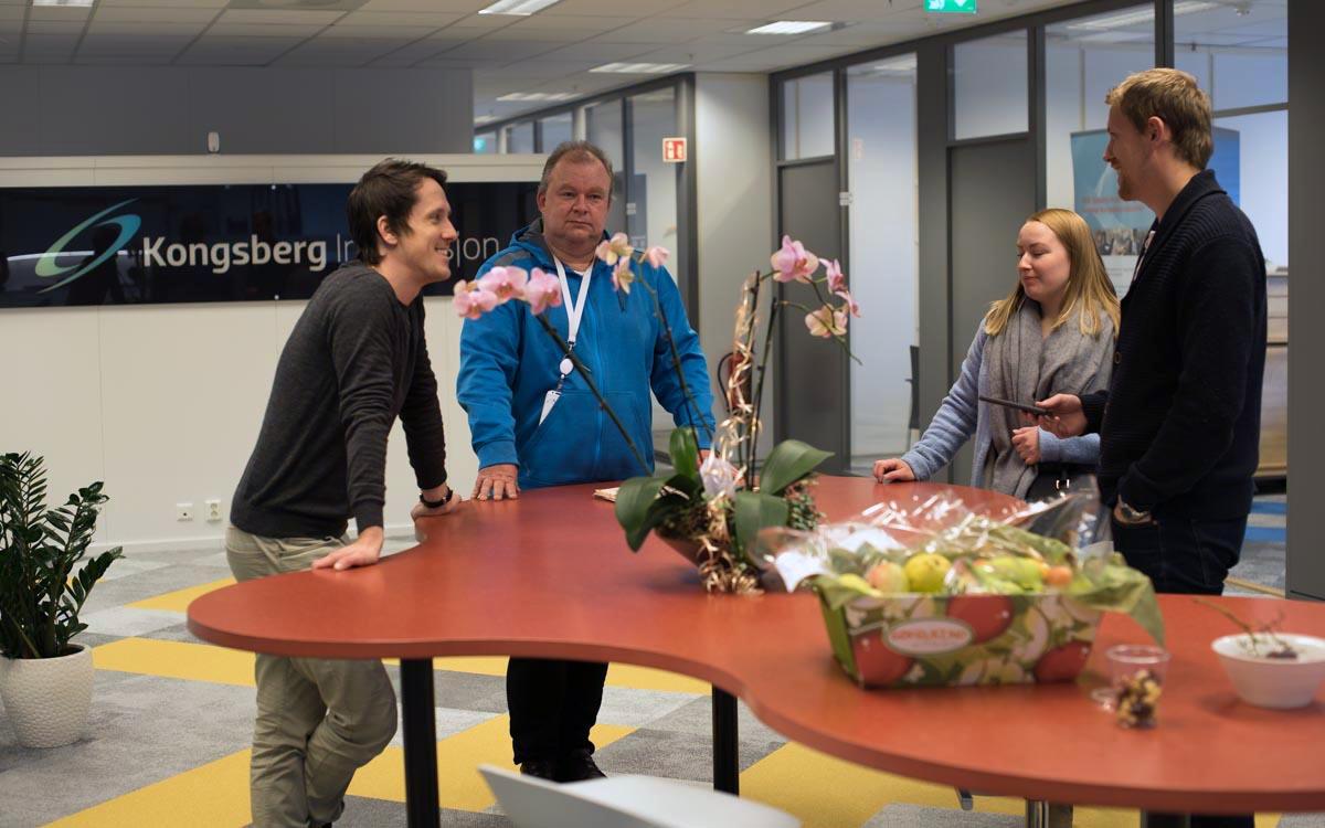 Akari AS holder til i nyoppussede lokaler i Kongsberg Teknologipark. Foto: Magnus Bjørnnes