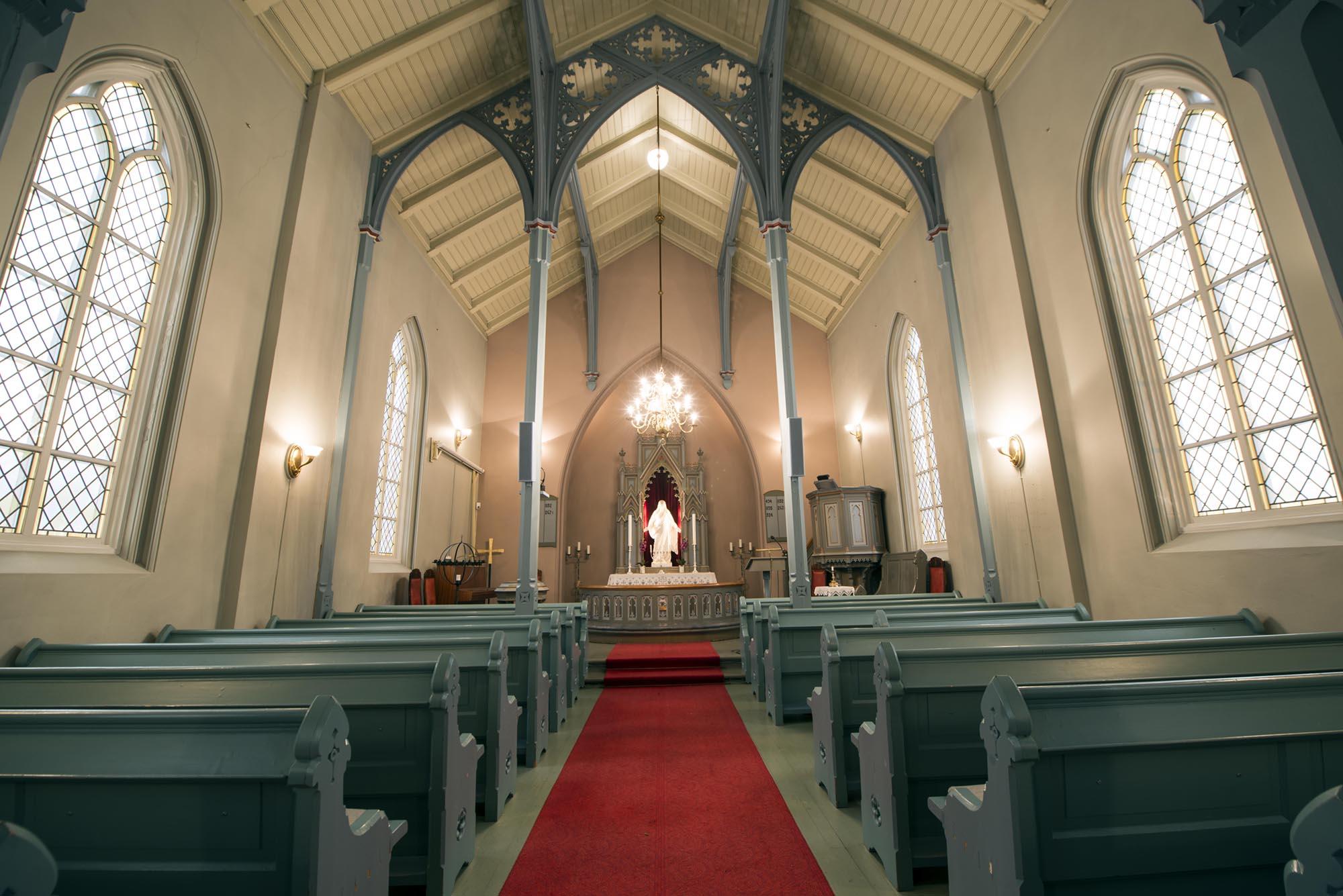 Tuft kirke i Hvittingfoss. Foto: Bjørn Isaksen/3600.no