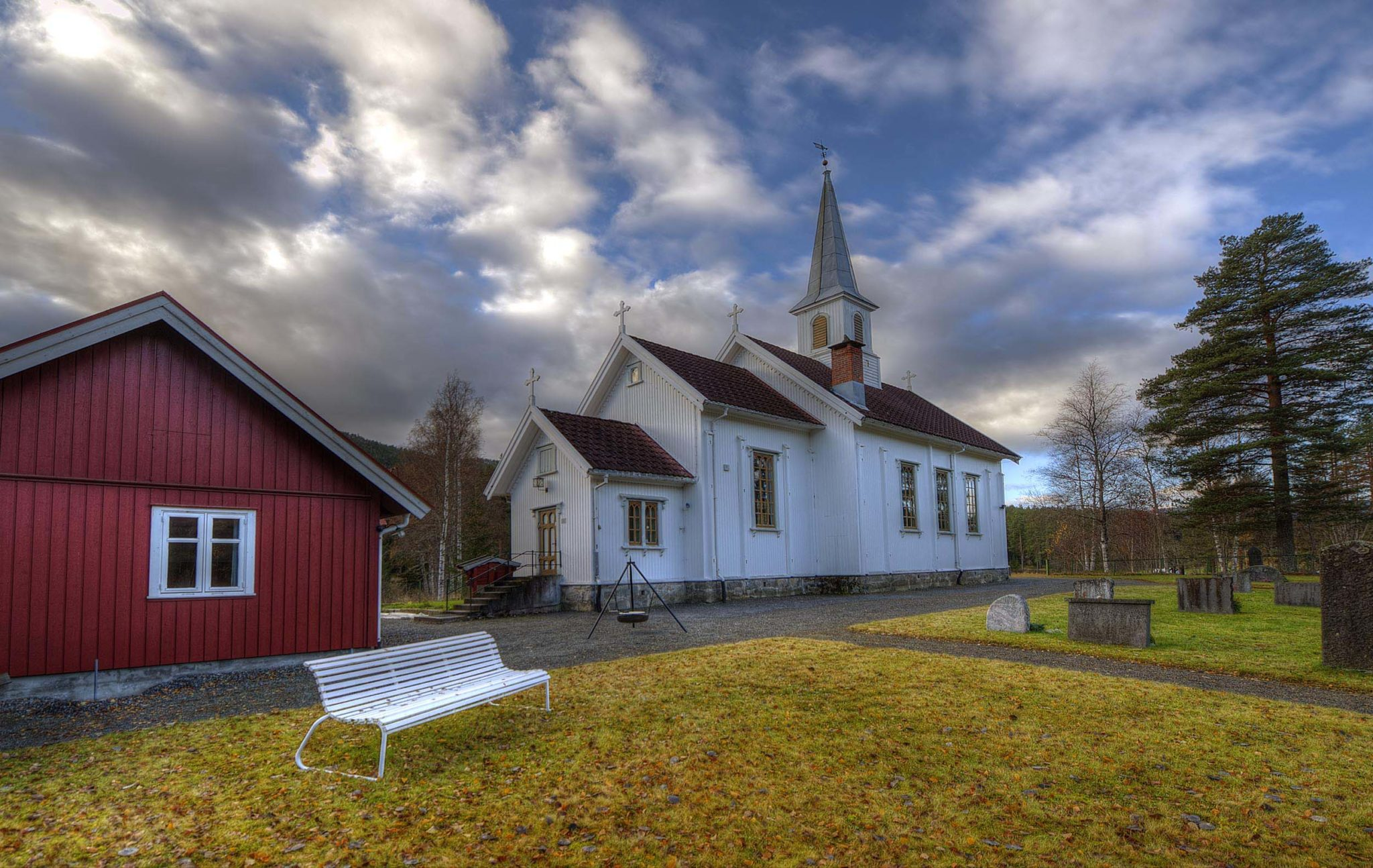 Jondalen kirke. Foto: Bjørn Isaksen/3600.no