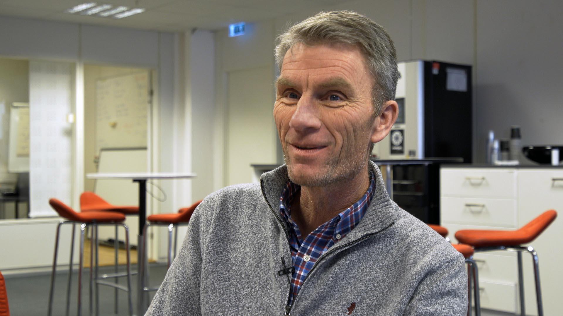 Stain Sandvold, daglig leder på K-tech. Foto: 3600.no