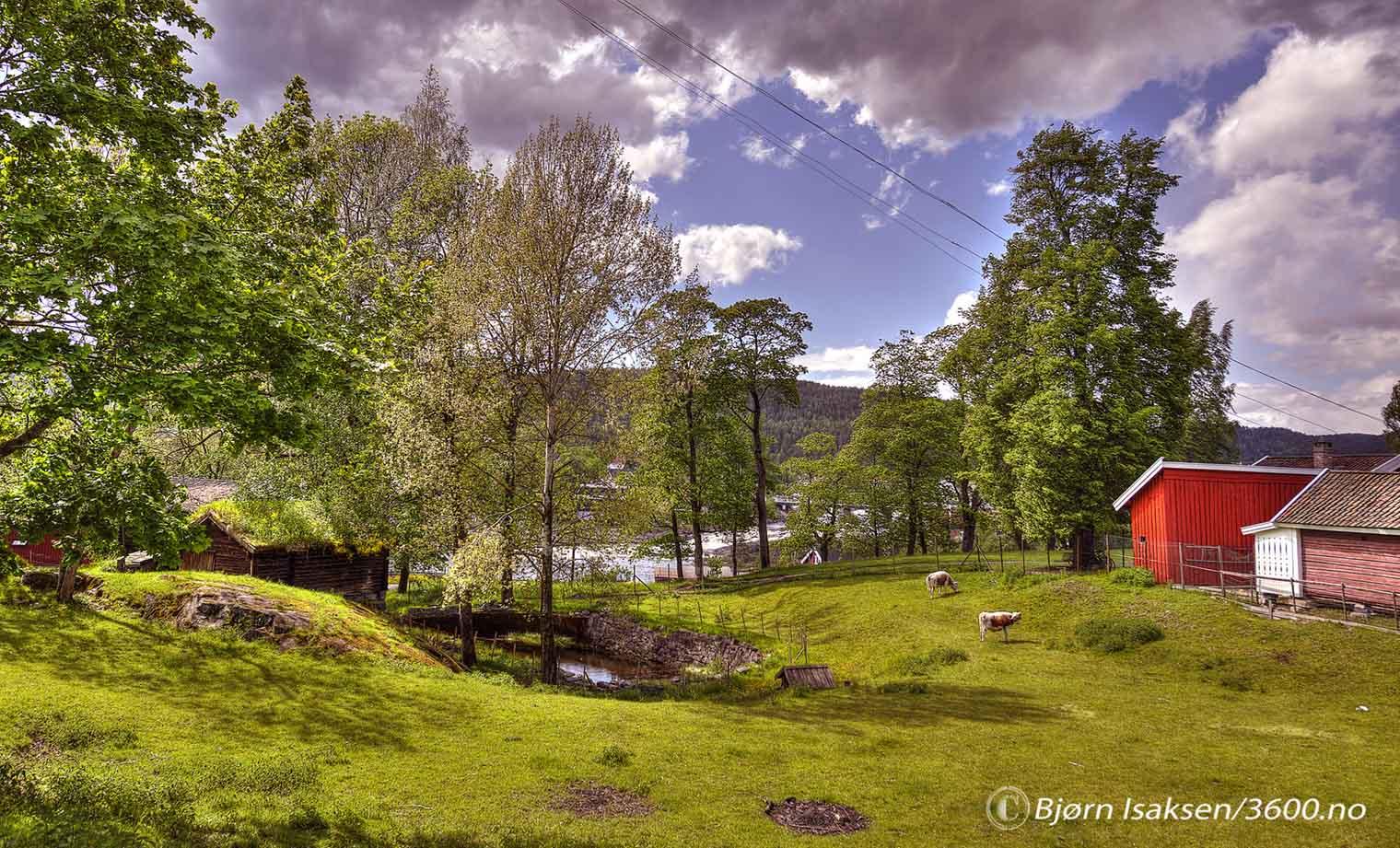 Hvor finner vi denne vakre plassen i Kongsberg?
