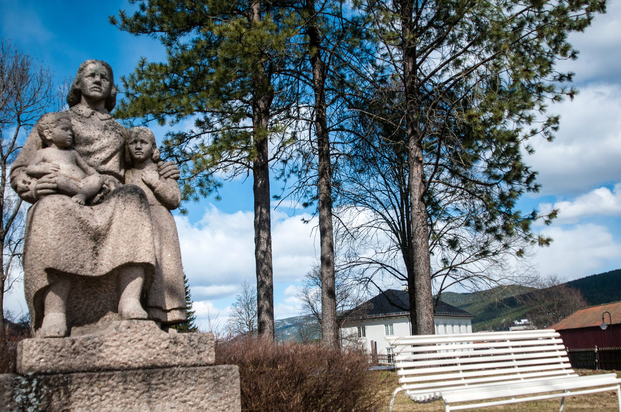 Vet du navnet på denne statuen?