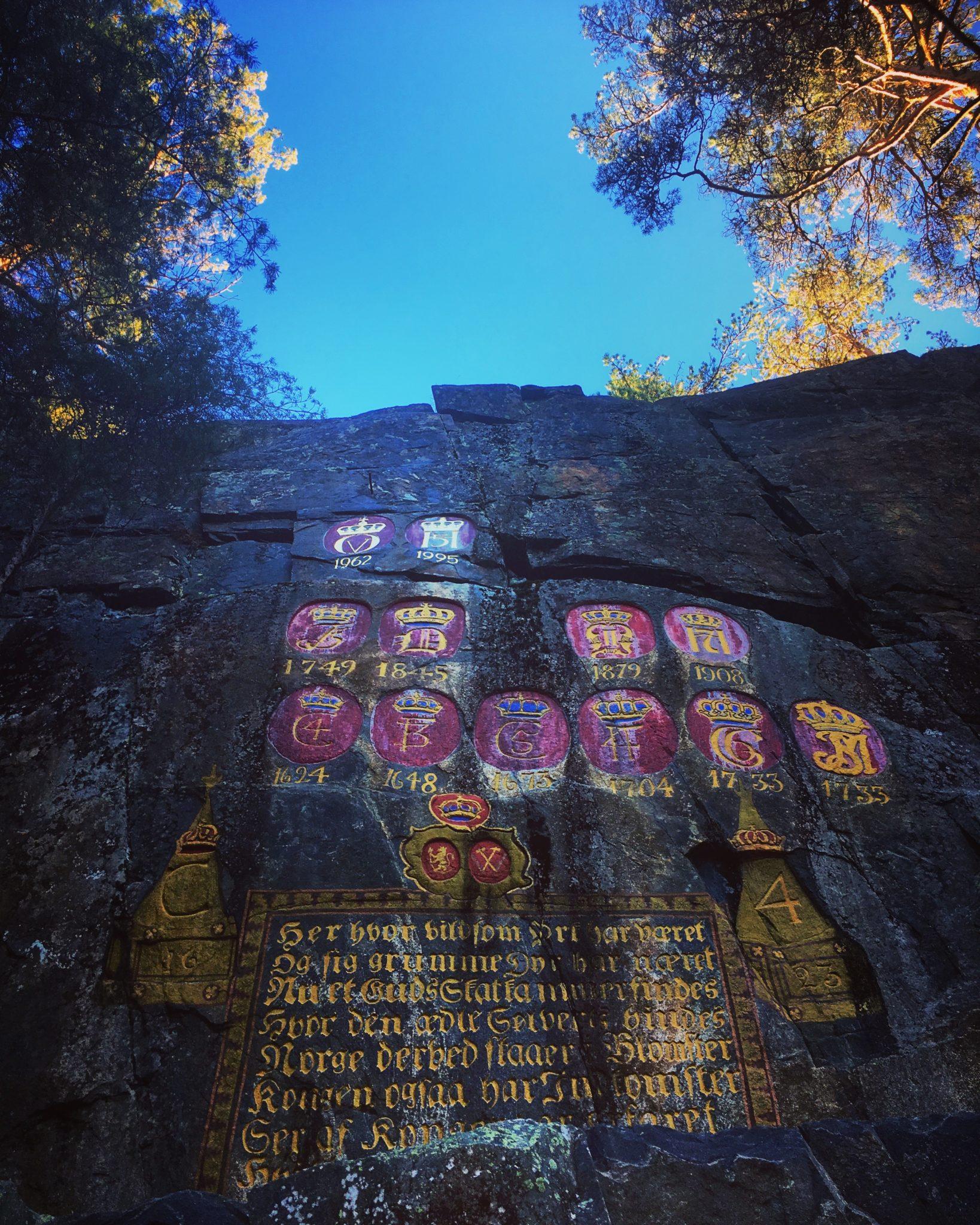 Hvem er den eneste kvinnen som har fått sitt monogram hugget inn i Kronene i Håvet?