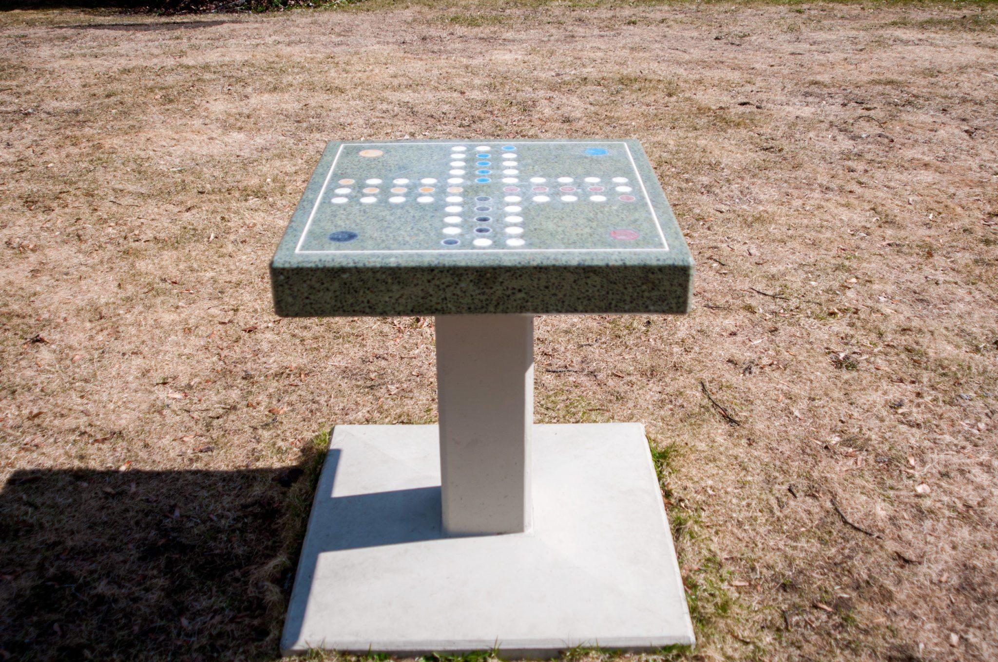 Visste du at du kunne spille en form for Ludo i sentrum? Det kan du, men hvor?