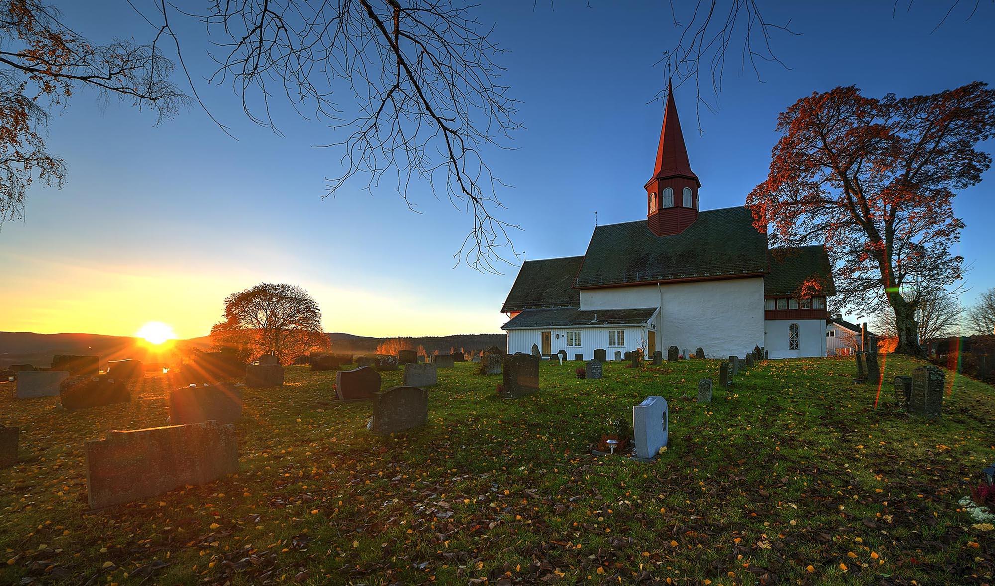 Vet du når denne kirken ble bygget?