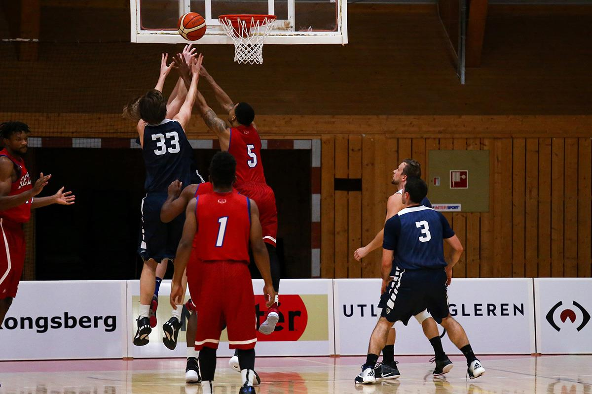 Hva heter det nåværende eliteseriebasketlaget til Kongsberg?
