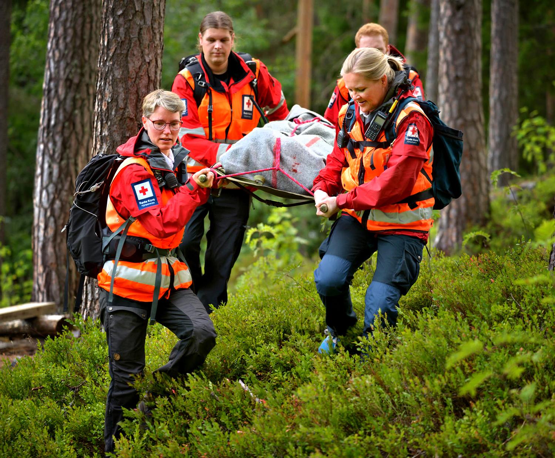 Når startet Kongsberg Røde Kors sin virksomhet?