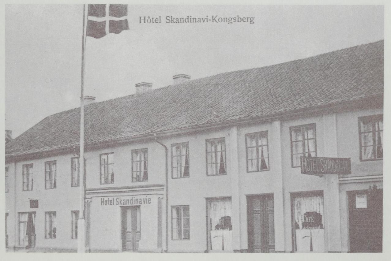 Hvem drev Kongsbergs aller første kino?
