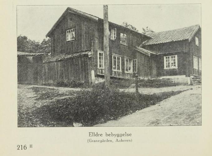 Hva ble Granegården på Kongsberg egentlig brukt som på 1700-tallet?